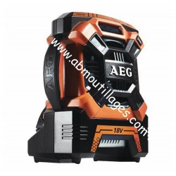 AEG BR 18C radio de chantier