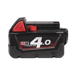 Milwaukee batterie M18 B4 - 18V / 4.0Ah Li-Ion