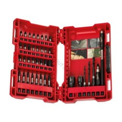 Milwaukee coffret 40 embouts de vissage