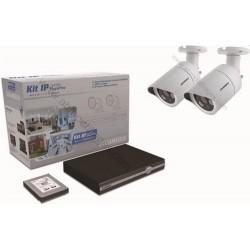 Kit de vidéosurveillance IP 2 caméras