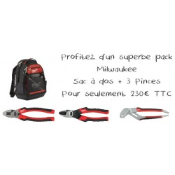 Pack sac à dos + pinces