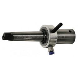 Arbre lubrifiant emmanchement cône Morse 3 Weldon 19mm