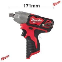 Milwaukee clé à choc M12 BIW12-0