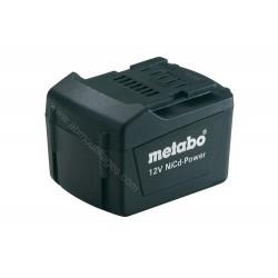 Metabo batterie PACK 12 V, 1.7 AH, NICD