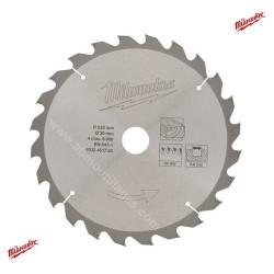 Milwaukee lame carbure 24 dents diamètre 235mm