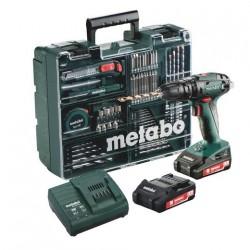 Metabo perceuse percussion BS 18 L Quick Set accessoires