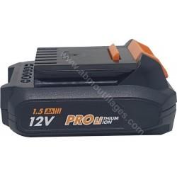 AEG Batterie L1215G3 12 volt 1.5 Ah