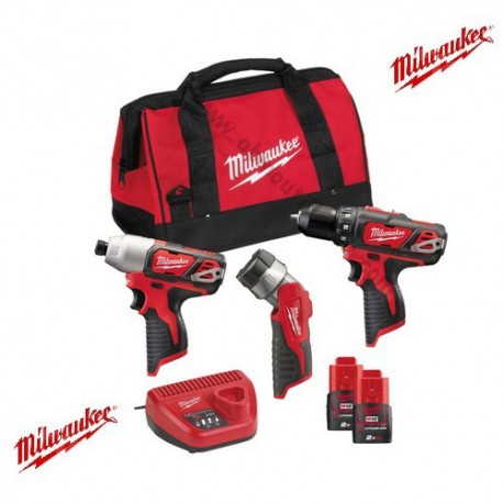 Milwaukee Pack M12 BPP3A-202B