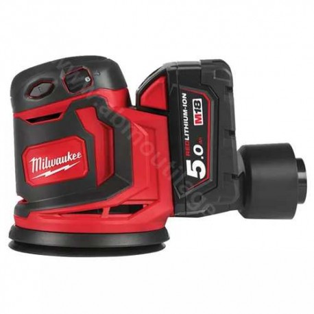 Milwaukee ponceuse excentrique M18 BOS125-502B