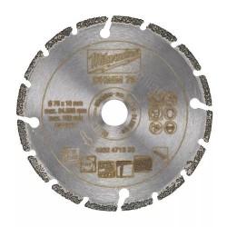 Milwaukee disque diamant multi-matériaux 76 mm