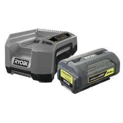 Pack chargeur rapide 5.0 A + 1 batterie LI Ion + 36 Volt - 4,0 AH à énergie régulée