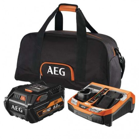 AEG batterie 18 Volt Pack Pro lithium SET-L1860-RHDBLK