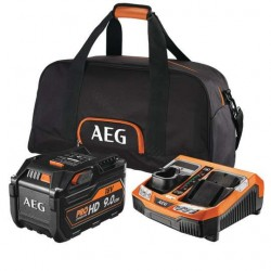 AEG batterie 18 Volt Pack Pro lithium SET-L1890-RHDBLK