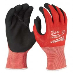 Milwaukee gants de protection anti-coupure niveau 1