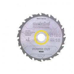 Metabo lame de scie circulaire portative 190 X 20, Z14 WZ 25°
