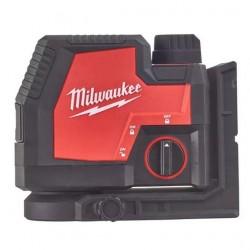 Milwaukee Laser vert 2 lignes L4 CLL-301C