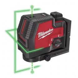 Milwaukee Laser vert 2 lignes L4 CLLP-301C