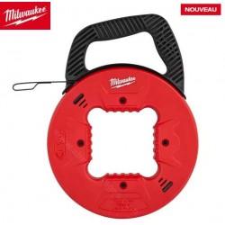 Milwaukee dévidoir tir fil acier 15 mètres