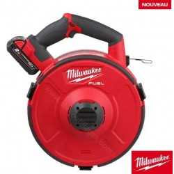 Milwaukee dévidoir tire fil M18 FPFT-202 36 m ST Set