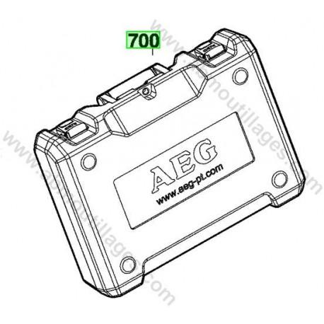 AEG coffret de transport pour perceuse percussion BSB18CBL-LI
