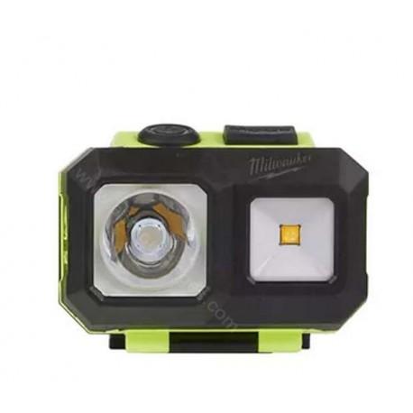 Milwaukee lampe frontale haute visibilité est certifiée ATEX