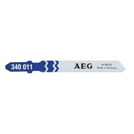 AEG Pack de 5 lames pour le métal de tôles très fines