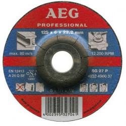 AEG 25 disques à meuler métal 115mm