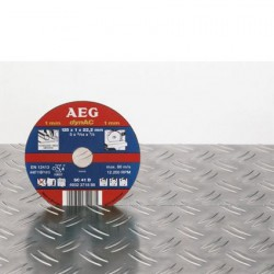 AEG disques à tronçonner métal fin