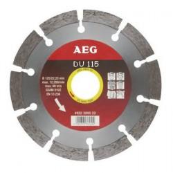 AEG disque diamant DU diamètre 115