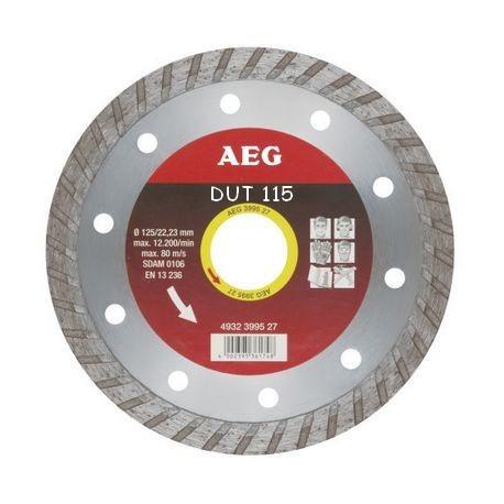 AEG disque diamant DUT diamètre 115