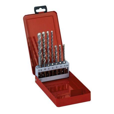 AEG coffret métal Jeu de 7 forets 2 taillants SDS-PLUS