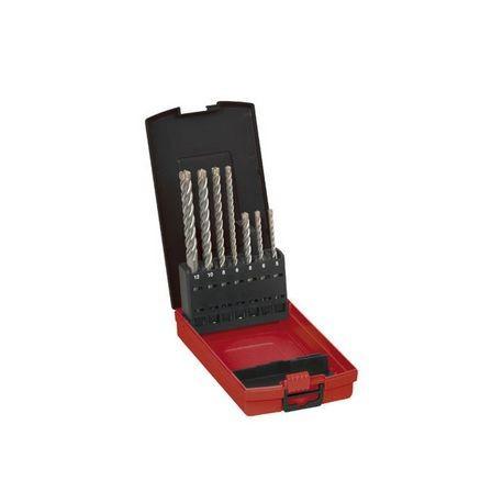 AEG coffret métal Jeu de 7 forets 4 taillants SDS-PLUS