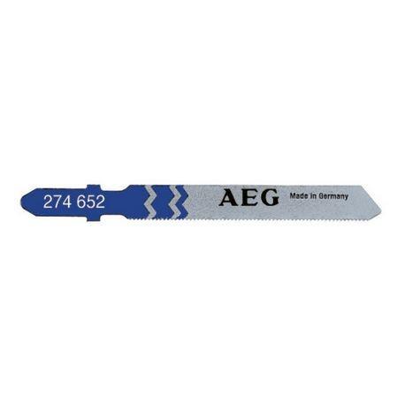 AEG Pack de 5 lames pour le metal