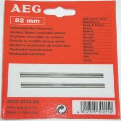 AEG lames pour rabot 82 mm