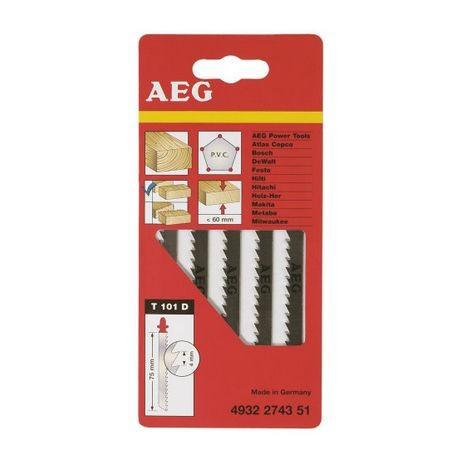 AEG set de lames pour scie sauteuse Spéciale Aluminium