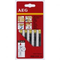 AEG 5 lames scie sauteuse pour bois et plastiques