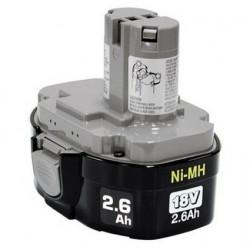 Makita batterie 1834 Ni-MH 18V / 2.6Ah