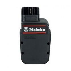 Metabo Bloc batterie 12 V, 1,7 Ah, NiCd