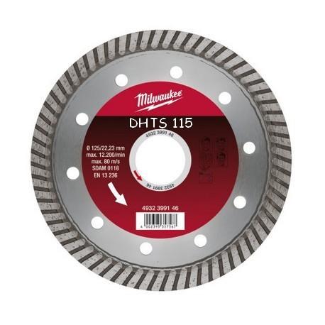 Milwaukee disque diamant DHTS diamètre 115
