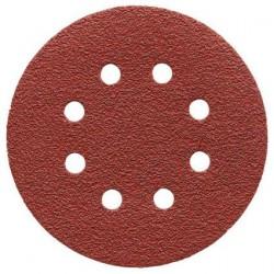 AEG Papier abrasif velcro Diamètre 125 mm par 25 feuilles