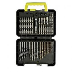 Ryobi Coffret RAK60DDF 60 accessoires percage/vissage