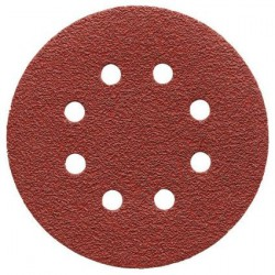 AEG Papier abrasif velcro Diamètre 125 mm