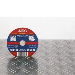 AEG disques à tronçonner déporté métal