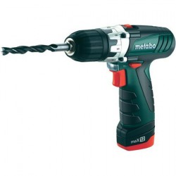 METABO Perceuse-visseuse sans fil 10,8 volts PowerMaxx 12