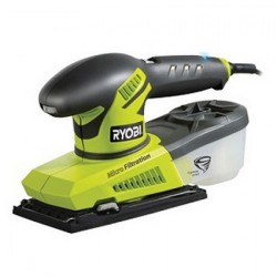 RYOBI Ponceuse vibrante ESS280RV 280W (Cyclonic Dustbox)
