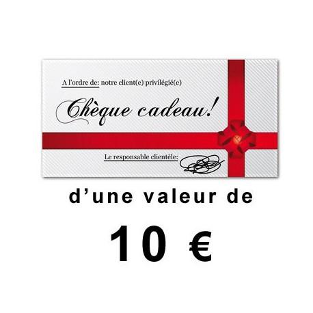 Chèque cadeaux outillage 10€