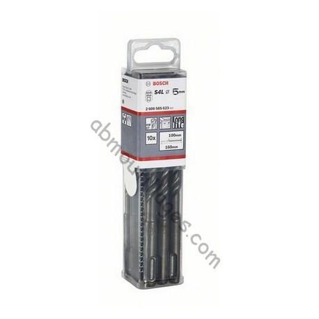 BOSCH FORET SDS-PLUS DIAM.6 mm par boite de 10