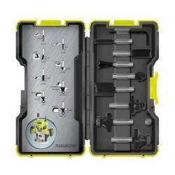 Coffret 8 accessoires pour défonceuse ERT1400RV