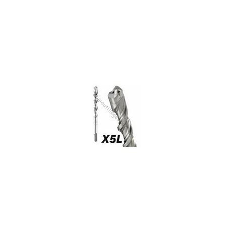BOSCH FORET X5L SDS-PLUS 4 TAILLANTS