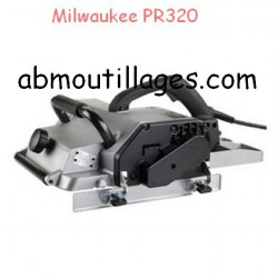 Milwaukee rabot de charpente pr320